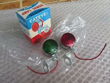 SIGNAL LIGHT VINTAGE BICYCLE GREEN NOS CATEYE FIXED GEAR RALEIGH SCHWINN BSA