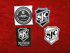 SJC Custom Drums 4 Sticker Set.....