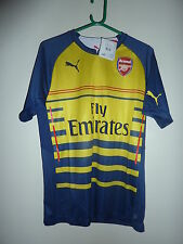 "Puma arsenal pre-match football shirt adult medium 39-41"" - bnwt"