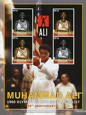 Maldives 2010 MNH Muhammad Ali 1960 Olympic Games Gold Medalist Boxing 4v M/S II