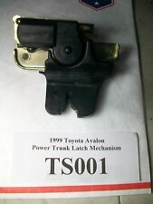 1999 Toyota Avalon Power Trunk Latch Mechanism OEM #TS001