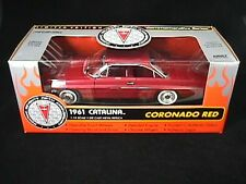 Ertl 1961 Pontiac Catalina Coronado Red L.E. 1/504 made for the world 1:18 Scale