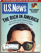US News & World Report - 1991, November 18 - The Rich in America