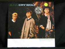 """a-ha. Cry Wolf. 45rpm 12"""" (inch) Single. 1986. Made In Australia"""