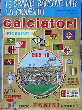 CALCIATORI 1969-70 - originale PANINI - Asta x mancoliste (1 figurina a scelta)