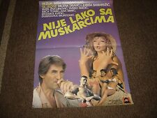 Nije Lako sa muskarcima (Not Easy with the Men's) (Cinema Poster) (27 x 19)