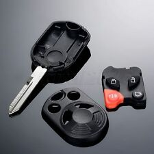 4 Buttons Car Remote Control Clicker Key Fob Shell Case For Ford Edge Expedition