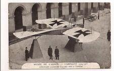 musée de l'armée campagne 1914 1918 aéroplane allemand (taube) pris a l'ennemi.