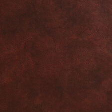 "G479 Sienna Brown Leather Grain Upholstery Recycled ""Bonded"" Leather By The Yard"