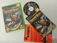Prince of Persia Complete Original XBOX 1 Video Game System DISK FLAWLESS