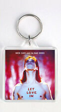 NICK CAVE AND THE BAD SEEDS - LET LOVE IN LP COVER KEYRING LLAVERO