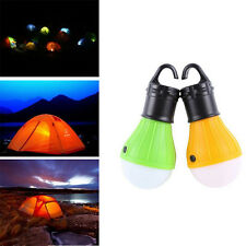 Hanging LED Camping Tent Light Bulb Fishing Lantern 3 LED Lamp Torch Outdoor