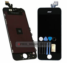 New Black Apple iPhone 5 LCD Display Digitizer Touch Screen Replacement -UK