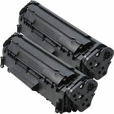 2PK Q2612A 12A Toner Cartridge For HP LaserJet 1018 3050 3052 3055 M1319F