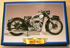 Norton Grande 4 600 Vintage Moto Bicicleta década de 1950 Clásico impresión de imagen 1950