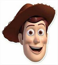 Woody from Toy Story Official Disney Single Fun CARD Party Face Mask