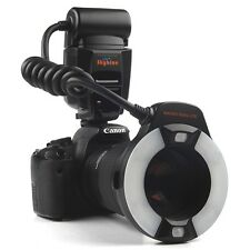 Meike TTL MK-14EXT LCD LED Macro Ring Flash light for Canon