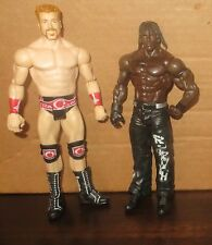 Sheamus & R-Truth WWE Mattel Basic USED/PLAYED WITH Wrestling Figure Lot WWF Set