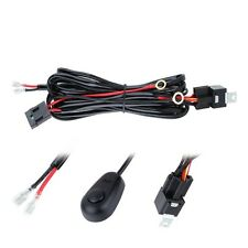 3M 10ft 12V 40A Wiring Kits Harness Relay Fuse Switch For High Watt LED Light US