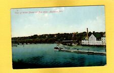 Appleton,WI Wisconsin, View of Water Power on Fox River