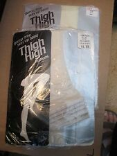 2 BONE WOMEN'S LADIES GIRLS STRETCH TOP THIN THIGH-HIGH STOCKINGS IN PKG
