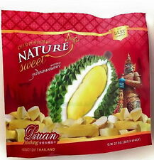 Durian Monthong Fruit Thai Vacuum Freeze Dried Low Fat Snack Eat Healthy Natural