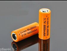 1 Accu 26650 Rechargeable 6800mAh Pile 3.7V Li-ion Accus Batterie Battery