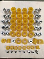 Mazda MX5 Eunos Miata Front & Rear Suspension & Chassis Bush Set - yellow PRO