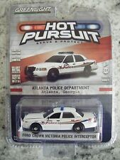GREENLIGHT HOT PURSUIT SERIES 21 FORD CROWN VIC POLICE INTERCEPTOR ATLANTA GA