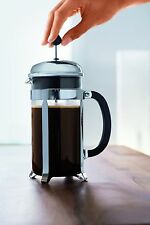 French Press System Bodum Chambord Coffee Maker, 1.0 L/34 oz - Shiny Glass Coffe