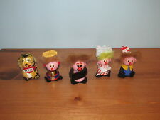 Kelloggs Little Mini People wood figure cereal wooden premium Tony The Tiger
