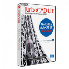 TurboCAD LTE v 7 Standard Design CAD Software Works Like AutoCAD LT FREE SHIP
