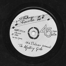 THE MYSTERY GIRLS - I'M A BELIEVER + 2. (UK, 1981, STRANGE RECORDS, HAM 002)