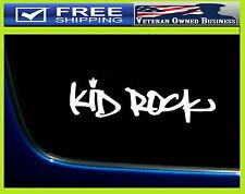 KID ROCK VINYL DECAL STICKER WINDOW Album Redneck Bocephus Detriot