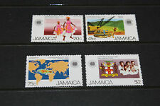 JAMAICA 1983 COMMONWEALTH DAY SET OF 4 VERY FINE MINT  M//N/H