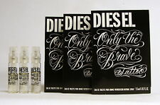 DIESEL ONLY THE BRAVE TATTOO SPRAY 1.5 ML. 0.05 fl.oz.3 UNITS VIAL. TRAVEL SIZE
