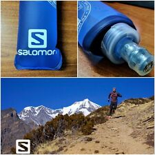 2 x SALOMON Soft Flasks 200ml / 7floz hydration bottle Triathlon, NEW VALVE