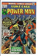 LUKE CAGE, POWER MAN # 17 (IRON MAN APP. FEB 1974), VF/NM