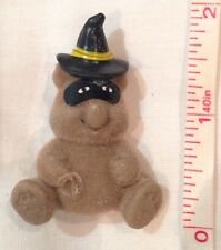 Teddy Badge Bear Halloween Witch Wizard Pin Hat Mask 80s