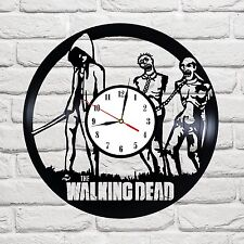 The Walking Dead 10 design vinyl record wall clock home decor art game move