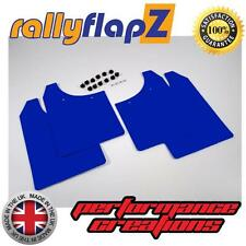 Rally Mudflaps to fit MG ZR Rover Mud Flaps rallyflapZ Blue (set of 4) 3mm PVC
