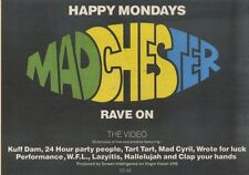 18/11/89Pgn49 Advert: Happy Mondays Rave On In 'madchester' The Video 7x11