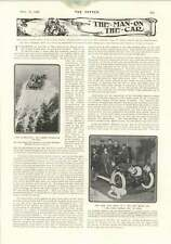 1906 Lambert Hydroplane Living Crushed Man Paris Eastbourne Tennis Tournament
