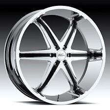 22 Inch Kool Wip Wheels Rims & Tires fit 6 X 135 Suburban, Sierra, Tahoe