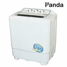 Panda Portable Washer and Dryer Washing Machine 7.9lbs Spin Cleaning Camping RV