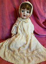 "Huge Antique Bisque Baby Doll 22"" CATTERFELDER PUPPENFABRIK KESTNER Character"