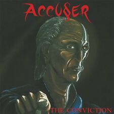 ACCUSER - The Conviction (NEW*LIM.100 RED VINYL*GER THRASH METAL CLASSIC*1987)