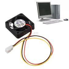 12V 3 Pin CPU Ventilateur Refoidisseur Radiateur Fan Pr Ordinateur PC 40x40x10mm