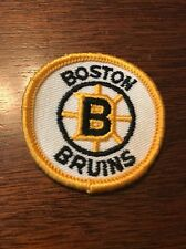Vintage 1970s NHL patch of Boston Bruins- Awesome!