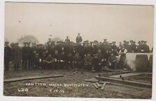 Dorset postcard - Canteen Wreck, Bovington, 7.12.14 - RP